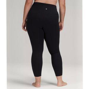 """Lululemon Align Pant II 25"""" Black Size 10"""